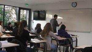 salle de classe MFR Jarnac