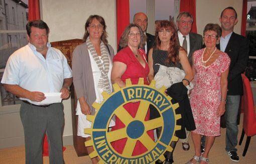 La MFR de Jarnac et le Rotary Club