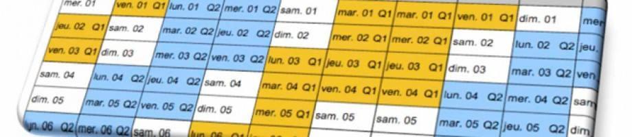 Calendrier Scolaire 2015/2016 : les dates à retenir